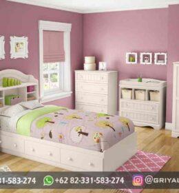 Set Tempat tidur Anak Mewah Mebel Jepara