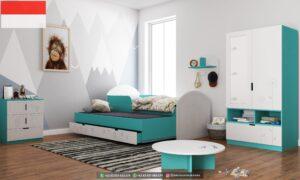 Set Tempat tidur Anak Modern Simpel 300x180 - Set Tempat tidur Anak Modern Simpel